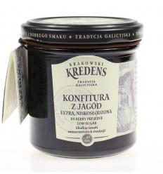 Konfitura z jagód Krakowski Kredens 160g