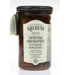 Grzyby Opieńki miodowe w zalewie korzennej Krakowski Kredens