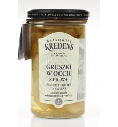 Gruszki w occie z pigwą Krakowski Kredens 260/155g