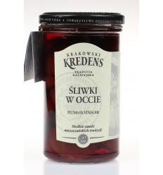 Śliwki w occie Krakowski Kredens 260g