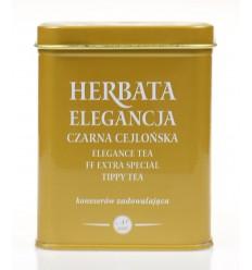 Herbata czarna cejlońska Elegancja Krakowski Kredens 20 torebek