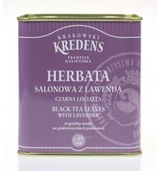 Herbata czarna liściasta Salonowa z lawendą Krakowski Kredens