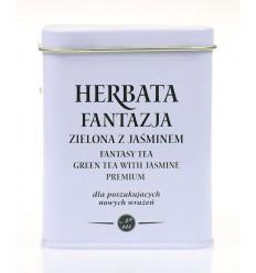 Herbata zielona z jaśminem Krakowski Kredens 20 torebek
