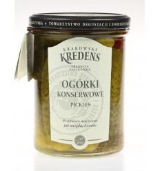 Ogórki konserwowe Krakowski Kredens 400g