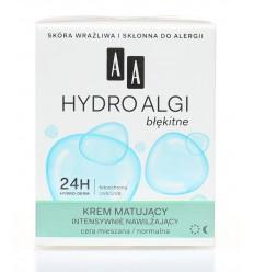 Krem matujący hydro algi błękitne AA 50ml
