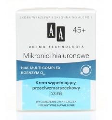 Krem na dzień Mikronici hialuronowe 45+ AA 50ml