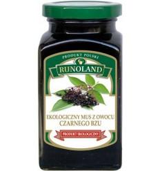 Mus z owocu czarnego bzu ekologiczny Runoland 300g