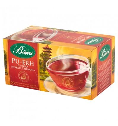 Herbata Pu-Erh czerwona BiFix 20 torebek