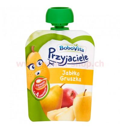 Mus Przyjaciele jabłko-gruszka BoboVita 80g