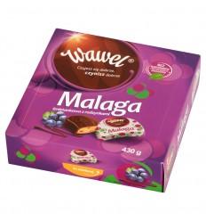 Cukierki Malaga śmietankowa z rodzynkami Wawel 430g
