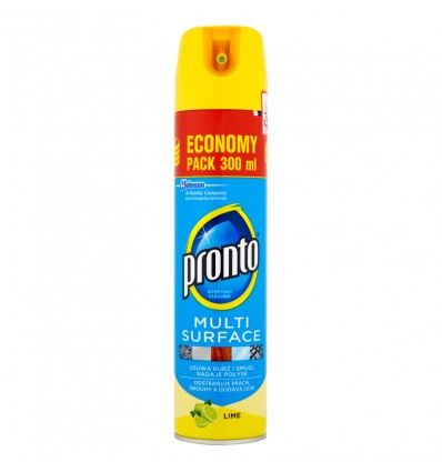 Pronto Multi Surface lime aérosol 300ml