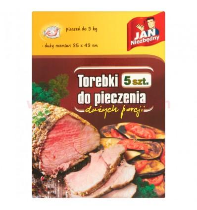 Sac cuisson pour grandes portions Jan Niezbedny 5 pièces