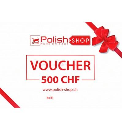 Voucher/bon Polish Shop - 500 CHF