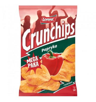 Chipsy Papryka Crunchips 225g