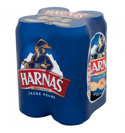 4x Harnas beer can 500ml
