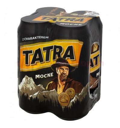 4x Tatra stron beer can 500 ml