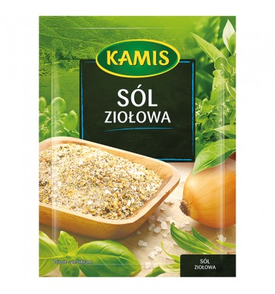 Przyprawa Sól ziołowa Kamis 35g