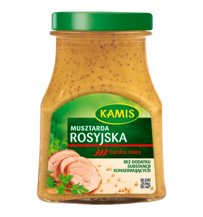 Moutarde Russe Kamis 180g