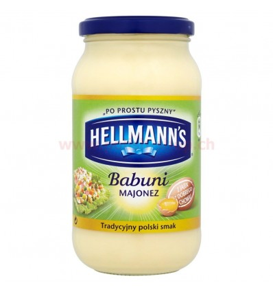 Babuni mayonnaise Hellmans 420ml