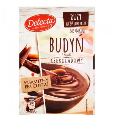 4x Budyń czekoladowy Delecta 64g