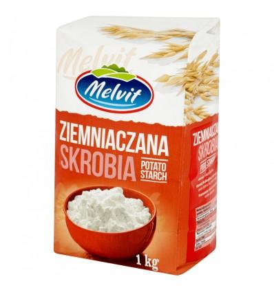 10x Mąka / Skrobia ziemniaczana Melvit 1kg