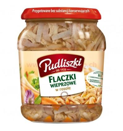 Zupa Flaki wieprzowe w rosole Pudliszki 500g