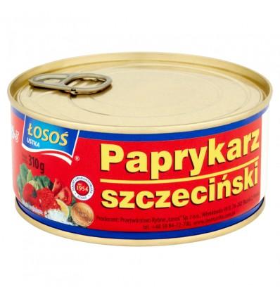 8x Conserve de poissons Paprykarz szczecinski Losos 310g