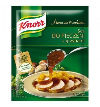 Sauce aux champignons pour rôti Knorr 29g