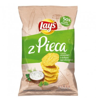 Chipsy z pieca jogurtowe z ziołami Lays 130g