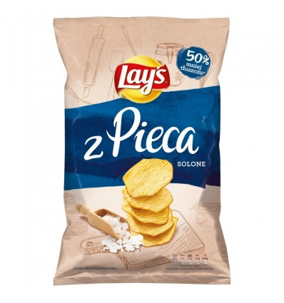 Chipsy z pieca solone Lays 130g