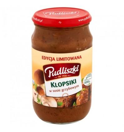 Danie Klopsiki w sosie grzybowym Pudliszki 600g