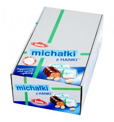 Cukierki Michałki z Hanki Śnieżka 100g (na wagę)
