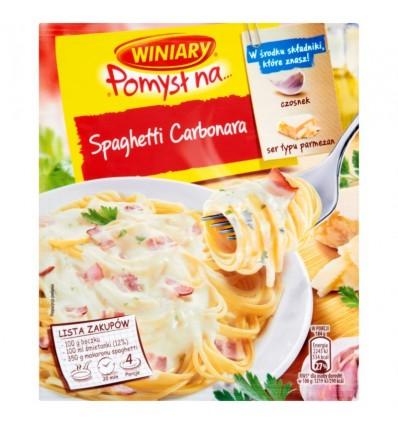 Mélange d'épices Fix pour spaghetti carbonara Knorr 45g