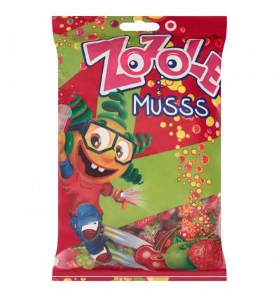 Cukierki Zozole musss jabłko, wiśnia, truskawka Mieszko 100g (na wagę)