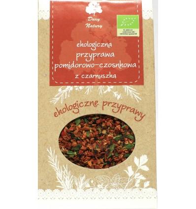 Przyprawa pomidorowo-czosnkowa z czarnuszką Dary Natury 40g