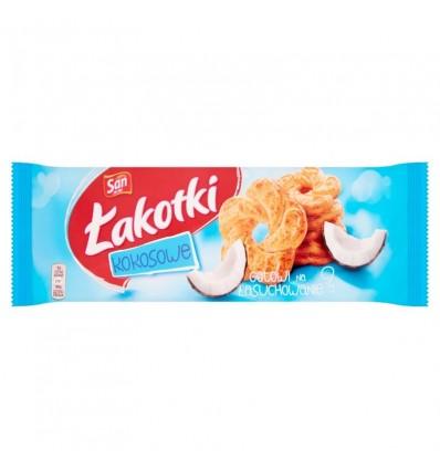 Biscuits à la noix de coco Lakotki San 168g