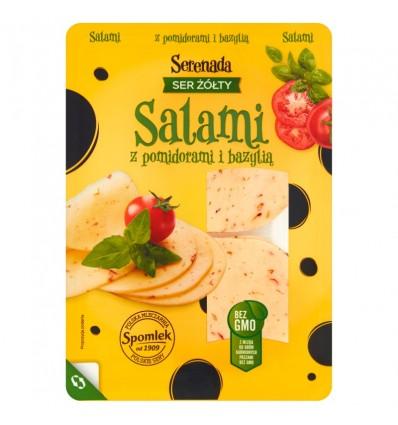 Serenada Salami cheese with tomatoes and basil 135g