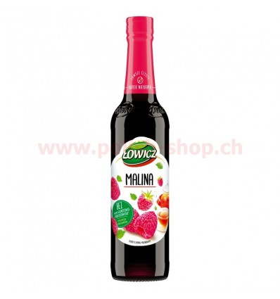 Raspberry and linden syrup Lowicz 440ml