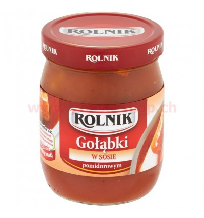 Cabbage rolls with meat and tomato sauce Rolnik 550g