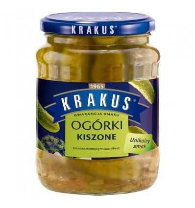 Pickled cucumbers Krakus 630g