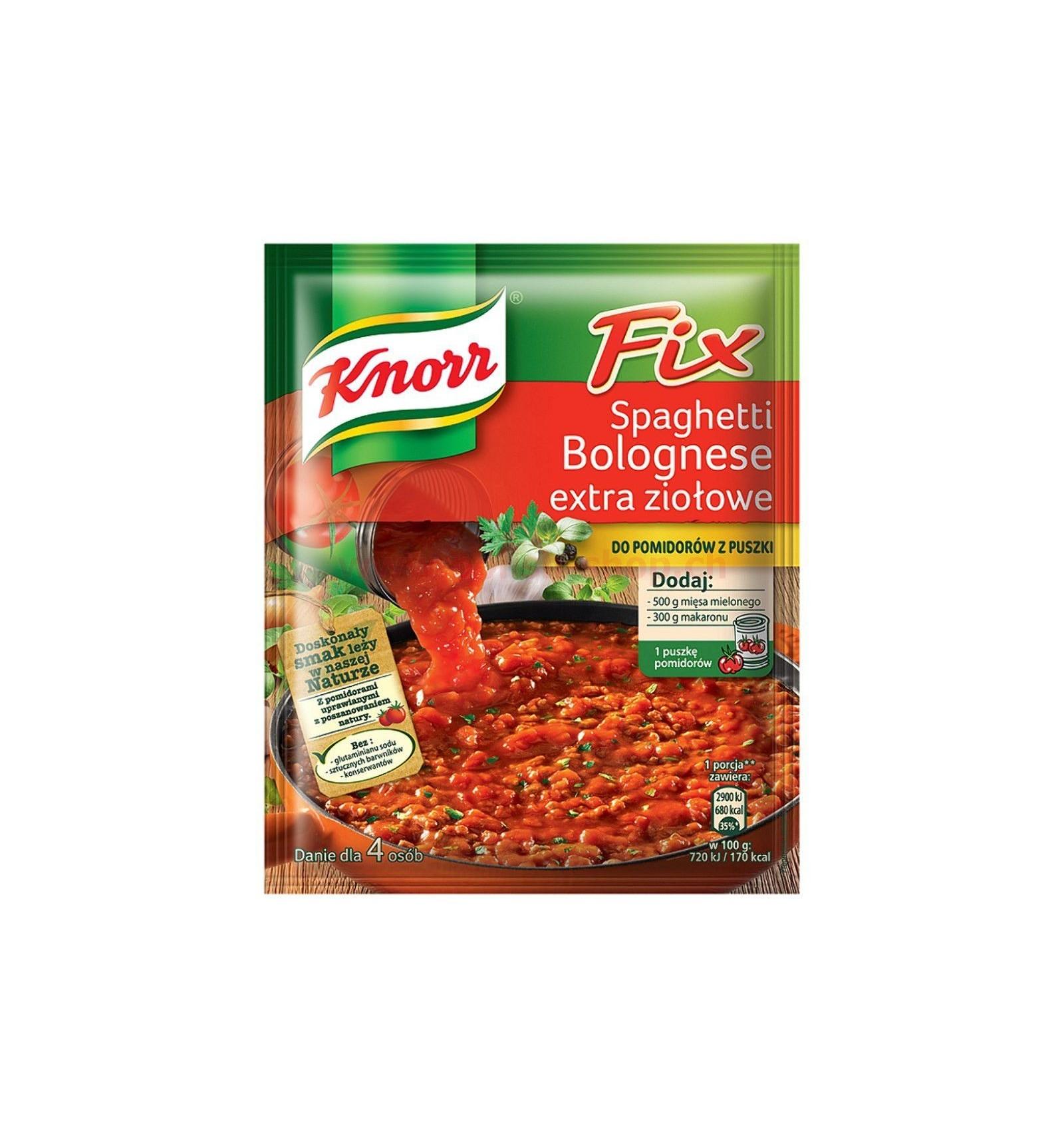 epices pour spaghetti