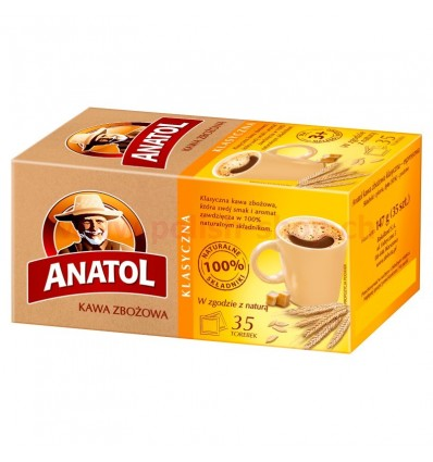 Kawa zbożowa Anatol classic 35 torebek