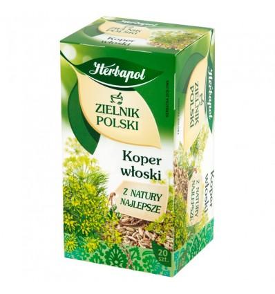 Herbapol Zielnik Polski Fenchel Aufguss 20 Beutel