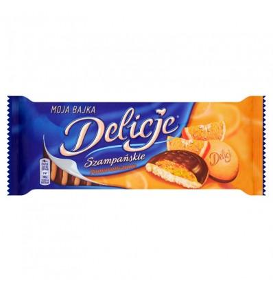 Biscuits à la gelée d'orange Delicje Szampanskie 147g