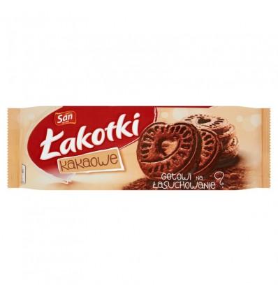 12x Biscuits au cacao Lakotki San 168g