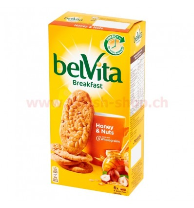 Cereal nuts and honey bars belVita 300g