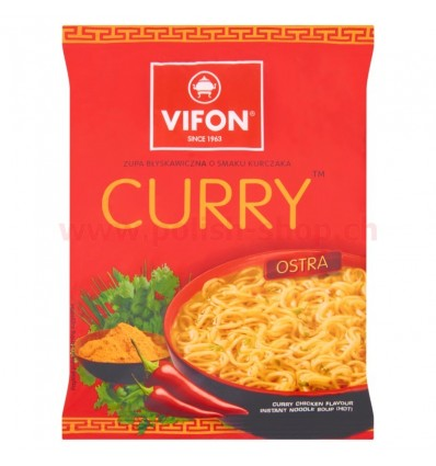 Instant curry chicken soup Vifon 70g
