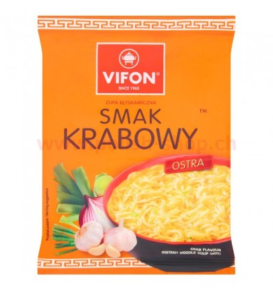 Soupe instantanée de crabe Vifon 70g