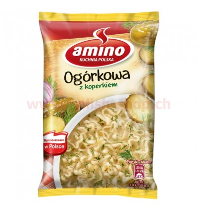 Soupe de concombres instantanée Amino 64g
