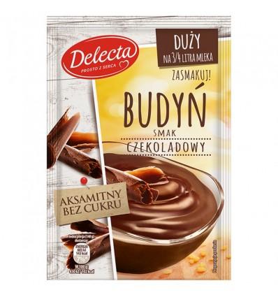 Delecta Pudding Schokoladen-Geschmack 64g